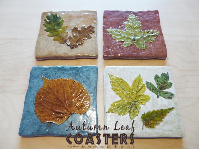 Autumn Leaf Coasters