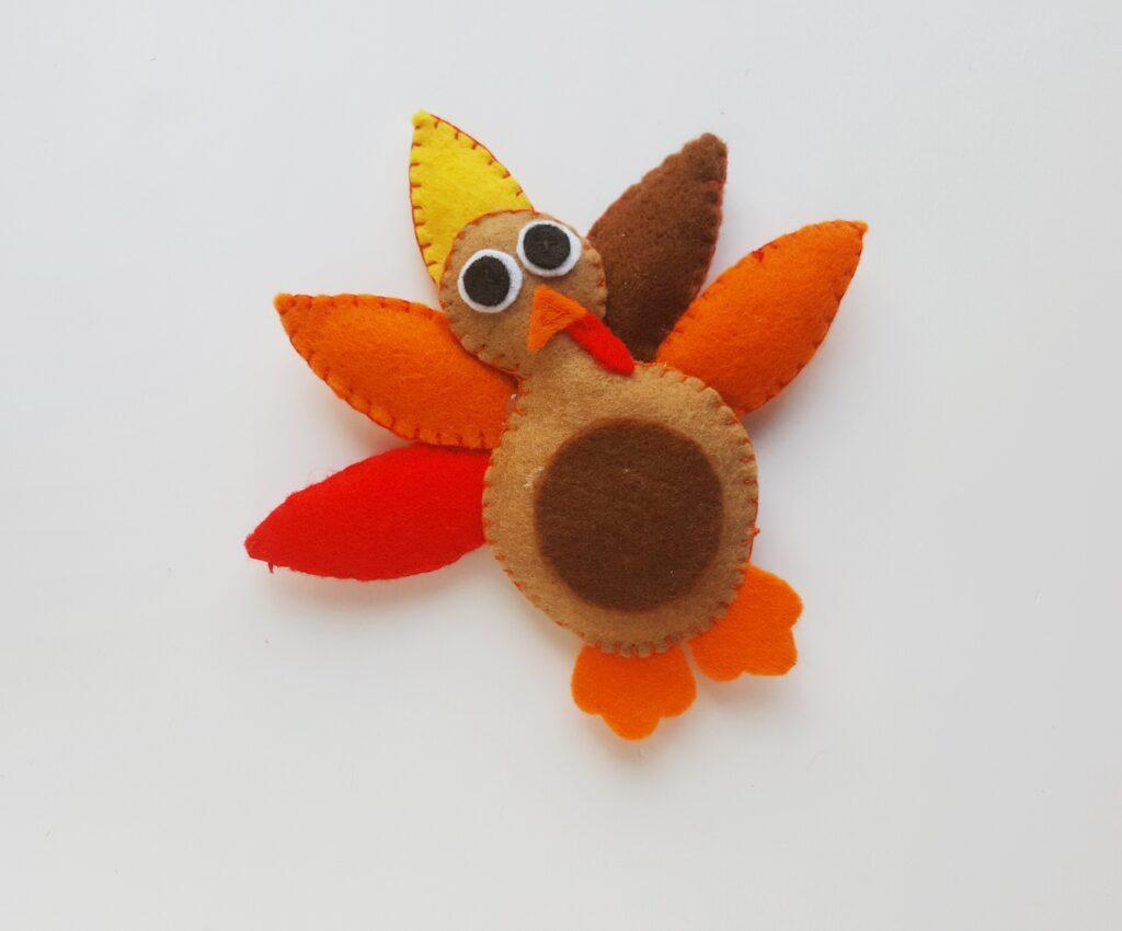 Felt Turkey Craft