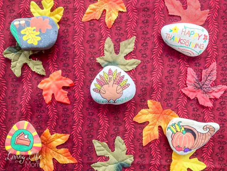 Thanksgiving Painted Rocks