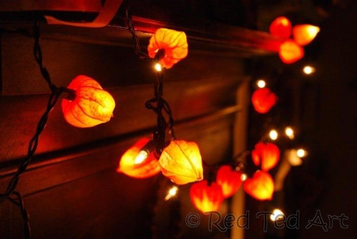 Fall Leaf Fairy Lights