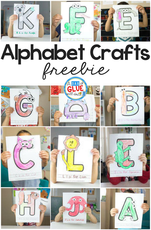 Animal Alphabet Craft