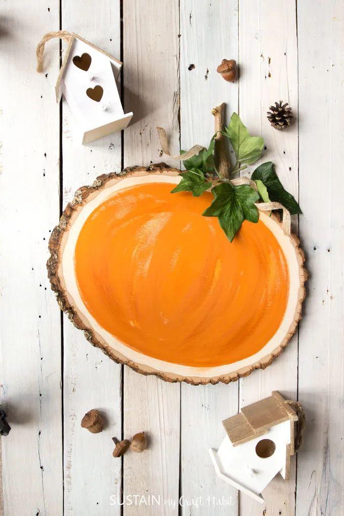 Rustic Pumpkin Decor