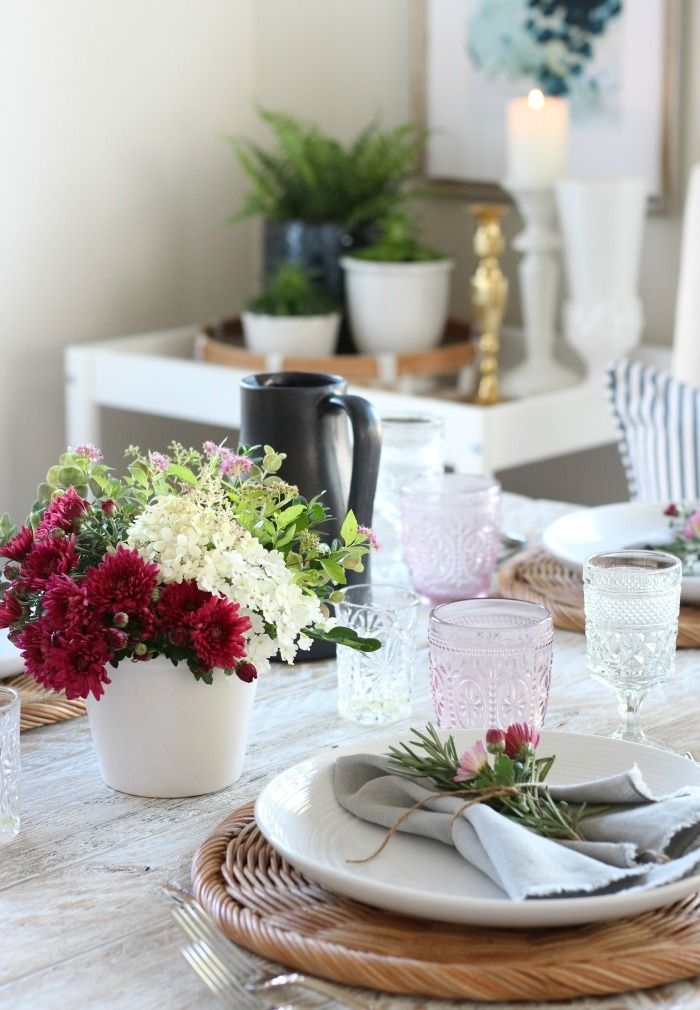 Foraged Fall Tablescape