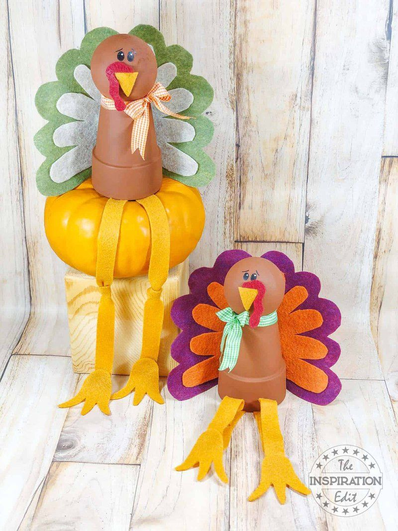 Clay Pot Turkeys