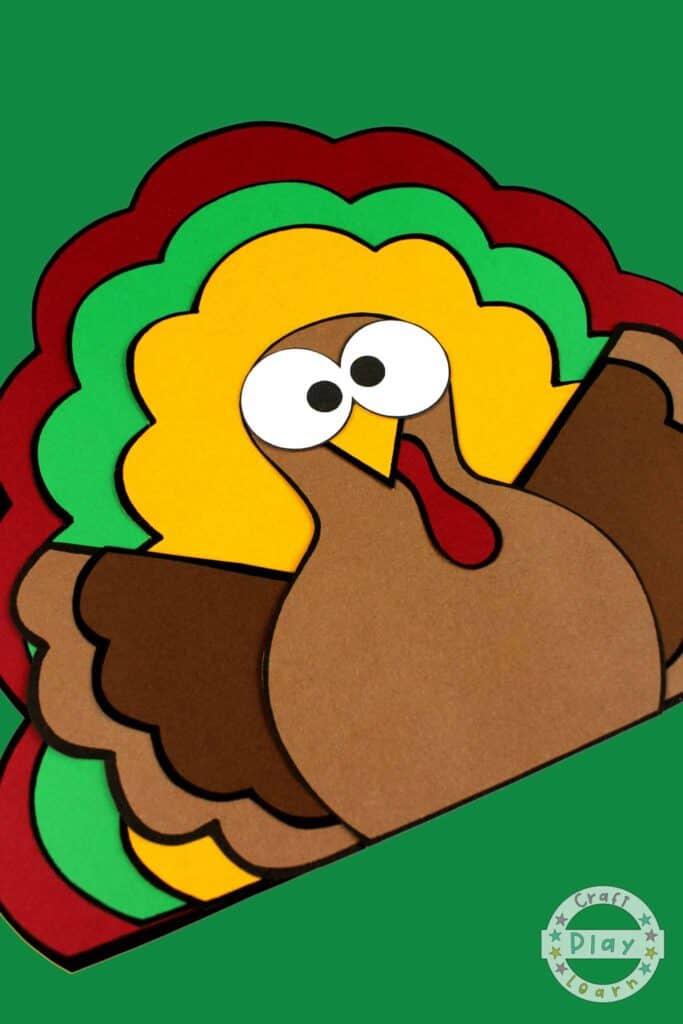 Easy Paper Turkey Craft