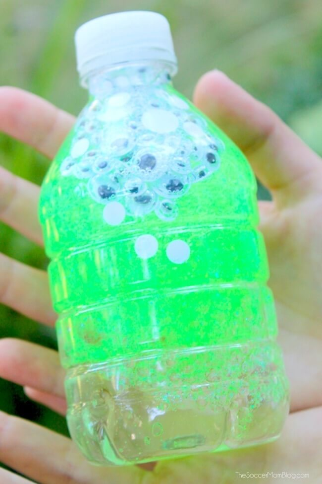 Monster Eye Sensory Bottles