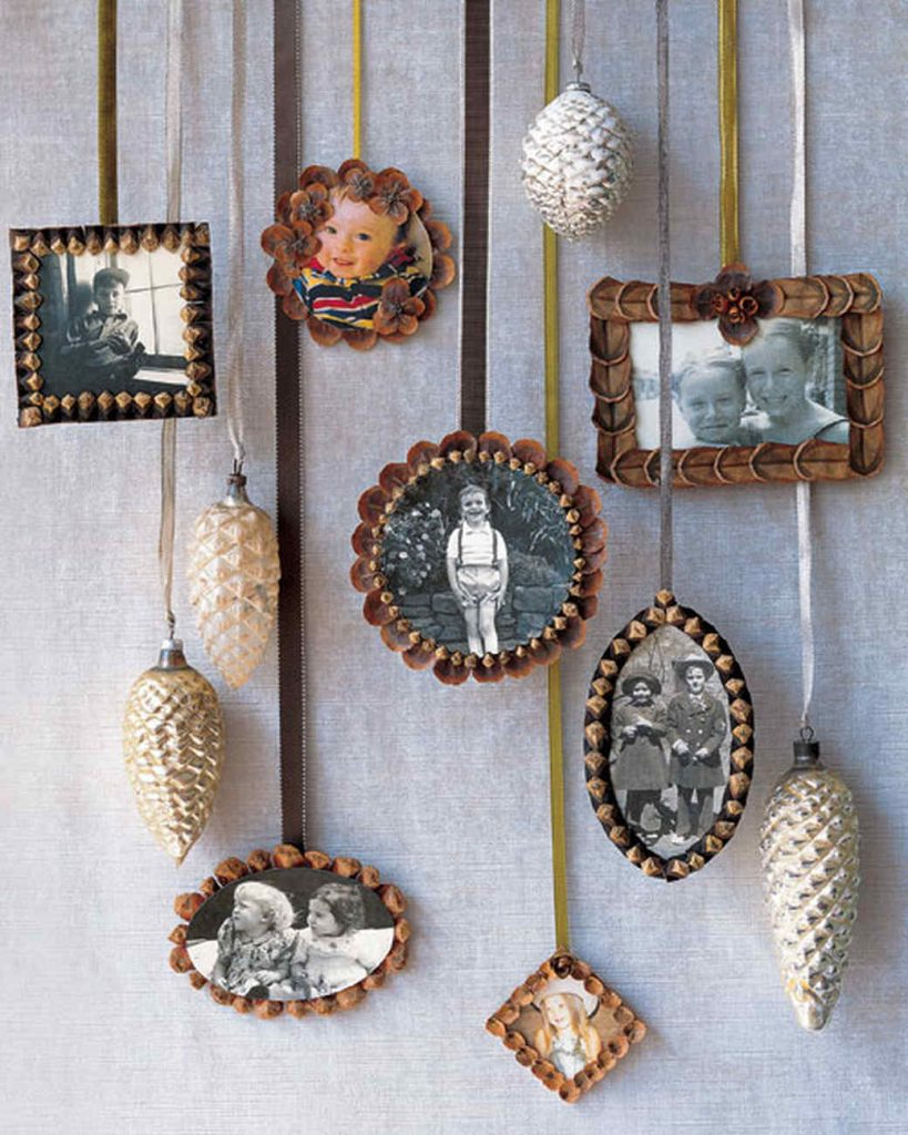 Pinecone Picture frame