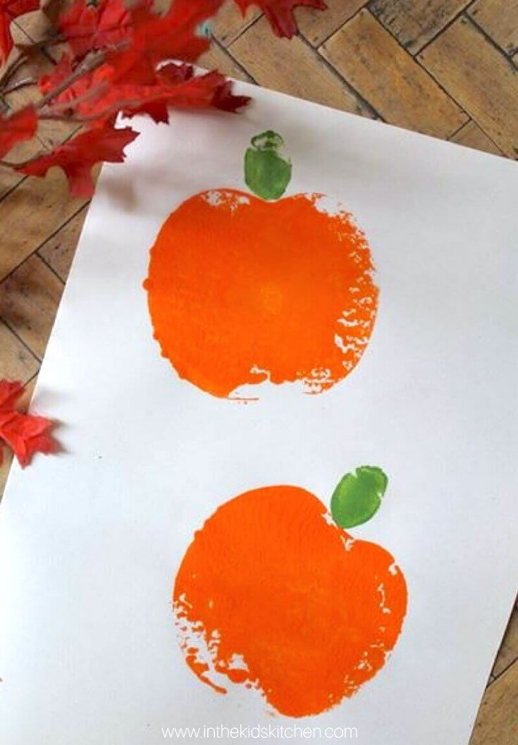 Pumpkin Apple Stamping
