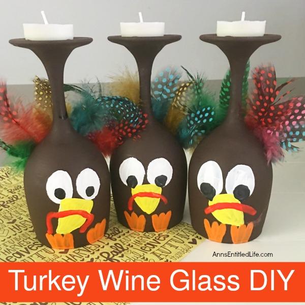 Turkey Wine Glass