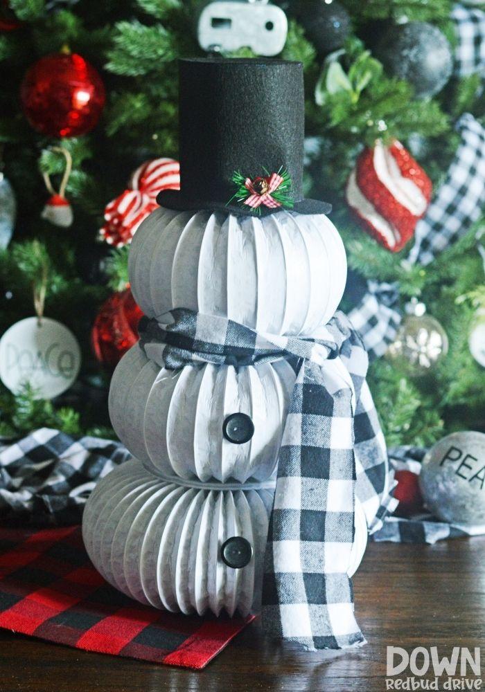 DIY Dryer Vent Snowman