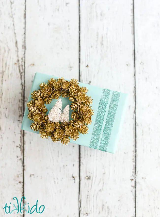 Pinecone Gift Ornament