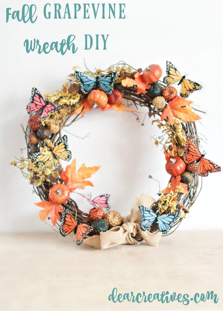 Butterfly Fall Wreath